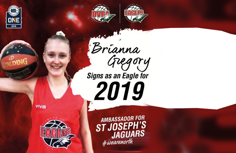 Brianna Gregory signs with NBL1 Eagles