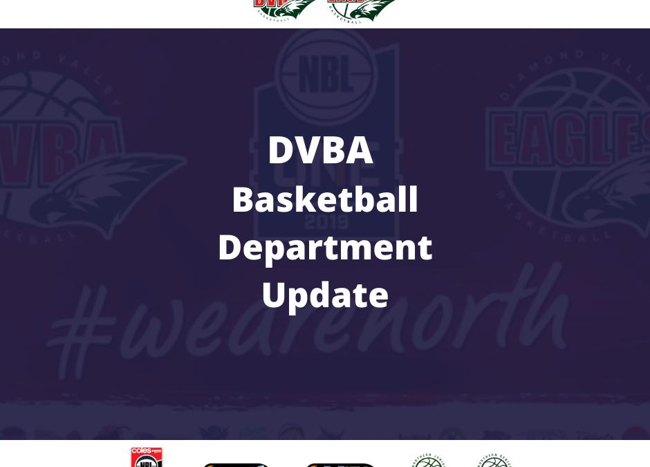 Basketball Department Update